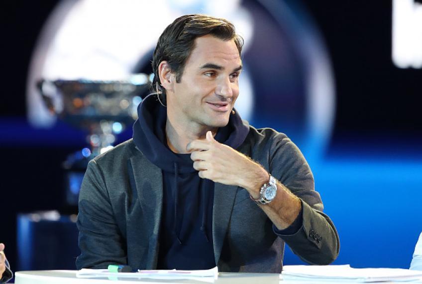 Roger Federer: 'Je suis tellement près de 100 titres, je vais le donner depuis'