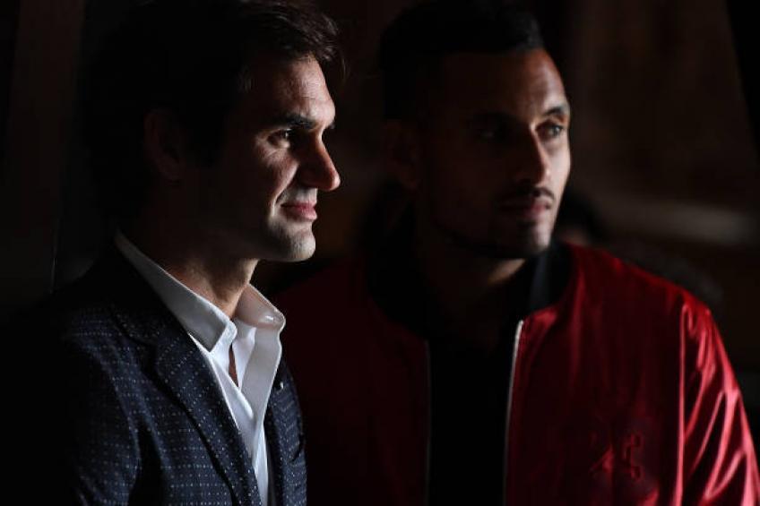 Nick Kyrgios révèle ce que Roger Federer lui a dit dans Melbourne