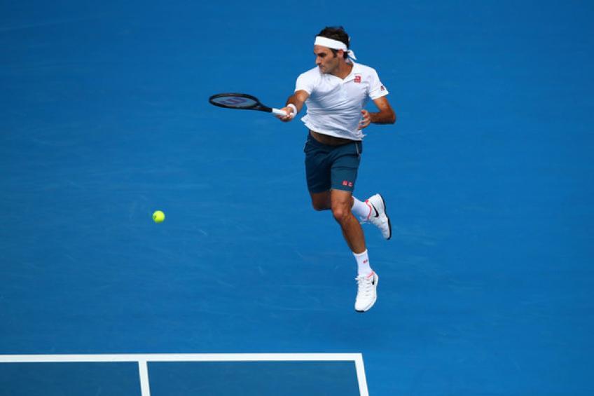 Australian Open: PeRFect Roger Federer entre dans le quatrième tour