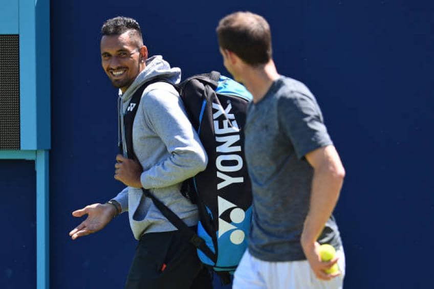 """""""Je serai derrière vous"""" – hommage émotionnel de Nick Kyrgios à Andy Murray"""