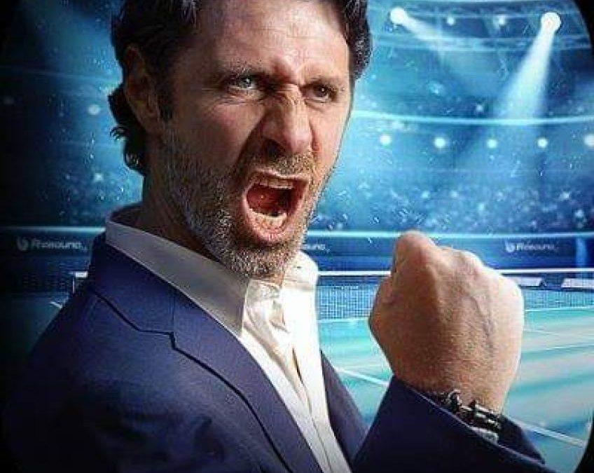 Patrick Mouratoglou lance un jeu mobile passionnant: Tennis Gestionnaire 2019