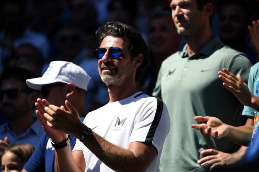 Mouratoglou commente l'hilarante hilarante de Stefanos Tsitsipas avertissement de coaching