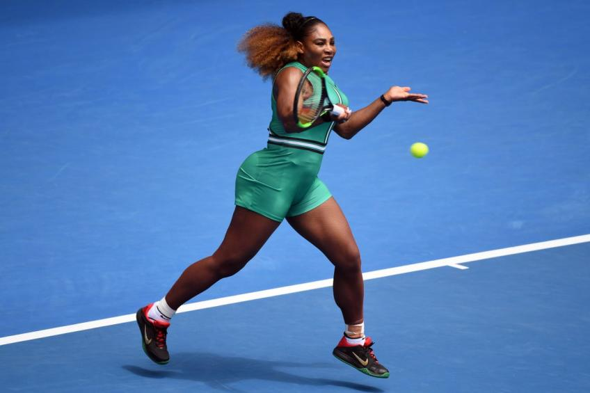 Open d'Australie: Serena Williams commence par le battement victoire unilatérale