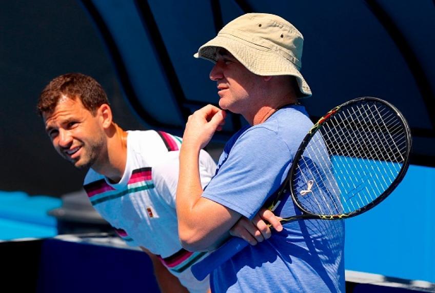 Andre Agassi n'a pas peur de parler, dit Grigor Dimitrov