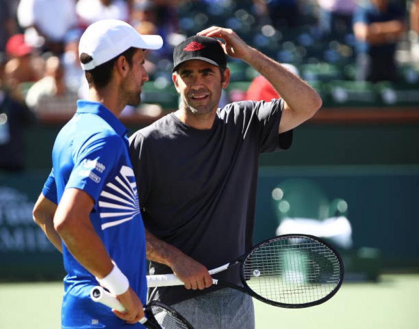 Novak Djokovic: 'Je me sens différent quand Pete Sampras viendra à mes matchs '